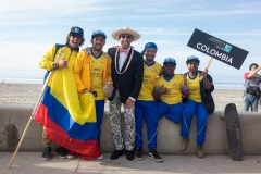 Team Colombia. PHOTO: ISA / Sean Evans