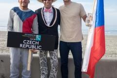 Team Czech Republic with ISA President Fernando Aguerre. PHOTO: ISA / Sean Evans