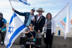 Team Israel with ISA President Fernando Aguerre. PHOTO: ISA / Sean Evans