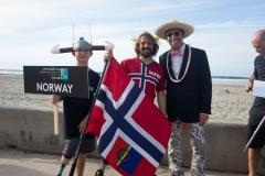 Team Norway with ISA President Fernando Aguerre. PHOTO: ISA / Sean Evans