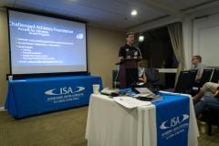 Patrick Caf Symposium. PHOTO: ISA / Sean Evans