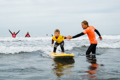 Stance ISA Adaptive Surfing Clinic presented by Challenged Athletes Foundation