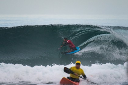 Epic Waves Greet World's Best Adaptive Surfers on Opening Day of Competition at 2017 Stance ISA World Adaptive Surfing Championship