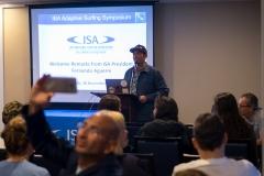 ISA President Fernando Aguerre - Symposium. PHOTO: ISA / Sean Evans