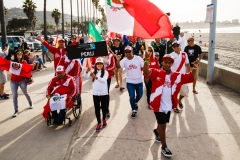 Parade Team Peru. PHOTO: ISA / Chris Grant