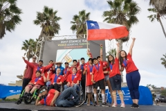 Team Chile. PHOTO: ISA / Sean Evans
