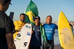 BRA - Robson Gasperi & Jonathan Borba. PHOTO: ISA / Sean Evans