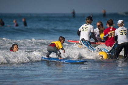 ISA Adaptive Surfing Clinic Fosters Future Generation of the Sport