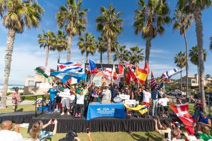 El Cuarto Stance ISA World Adaptive Surfing Championship Anual Fue Inaugurado con Gran Camaradería y Orgullo Nacional