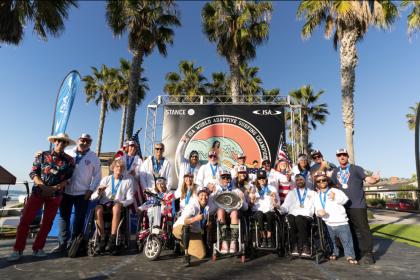 El Equipo de EEUU Gana una Histórica Primera Medalla de Oro en el Stance ISA World Adaptive Surfing Championship 2018