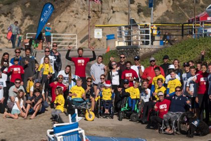 ISA Adaptive Surf Clinic presentado por CAF Junior Seau Foundation Adaptive Surf Program