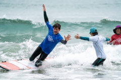 AmpSurf ISA Adaptive Surf Clinic. PHOTO: ISA / Pablo Jimenez
