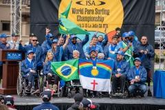 Team Brazil - Bronze Medal. PHOTO: ISA / Pablo Jimenez