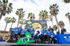 Team Brazil - Bronze Medal. PHOTO: ISA / Sean Evans