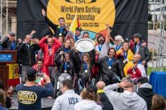 Team Spain - Gold Medal. PHOTO: ISA / Pablo Jimenez