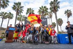 Team Spain - Gold Medal. PHOTO: ISA / Sean Evans