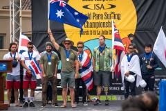 Podium Men VI 2. PHOTO: ISA / Pablo Jimenez