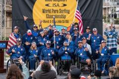 Team USA Bronze Medal. PHOTO: ISA / Pablo Jimenez