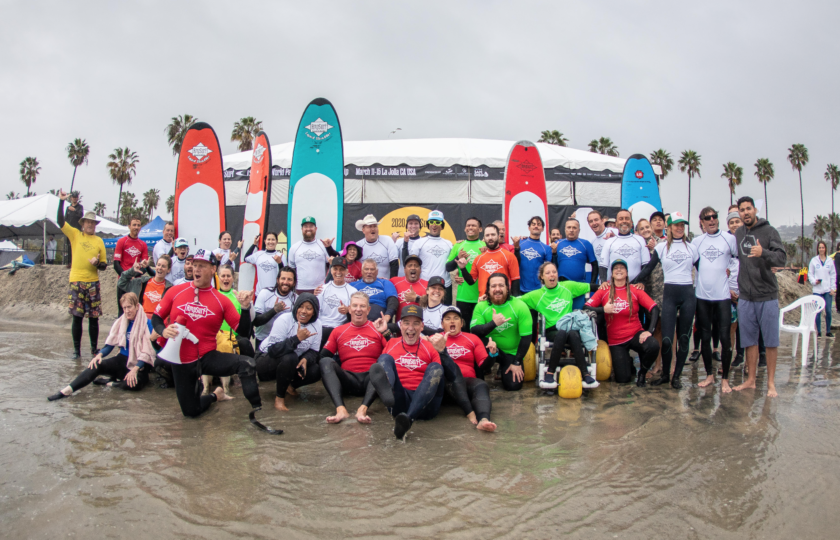 AmpSurf ISA Para Surf Clinic video highlights