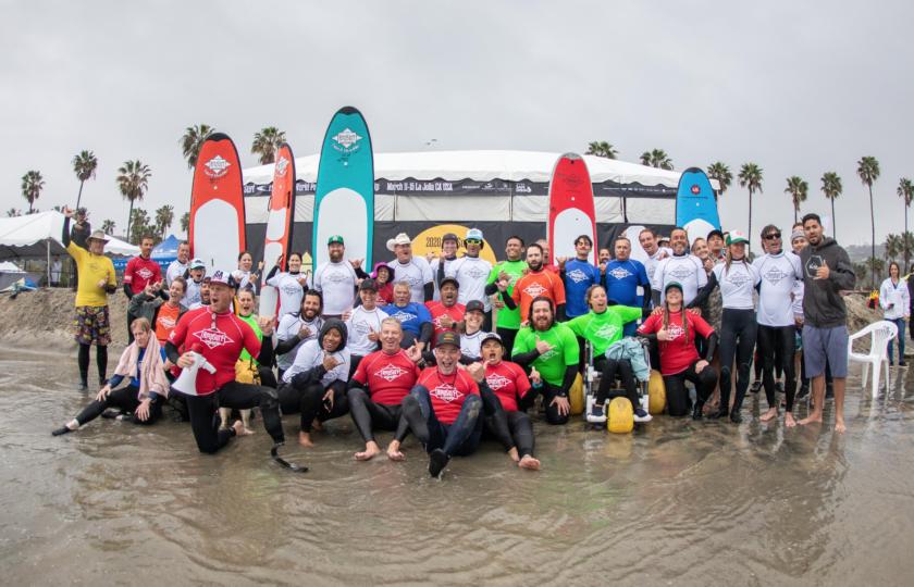 AmpSurf ISA Para Surf Clinic video highlights