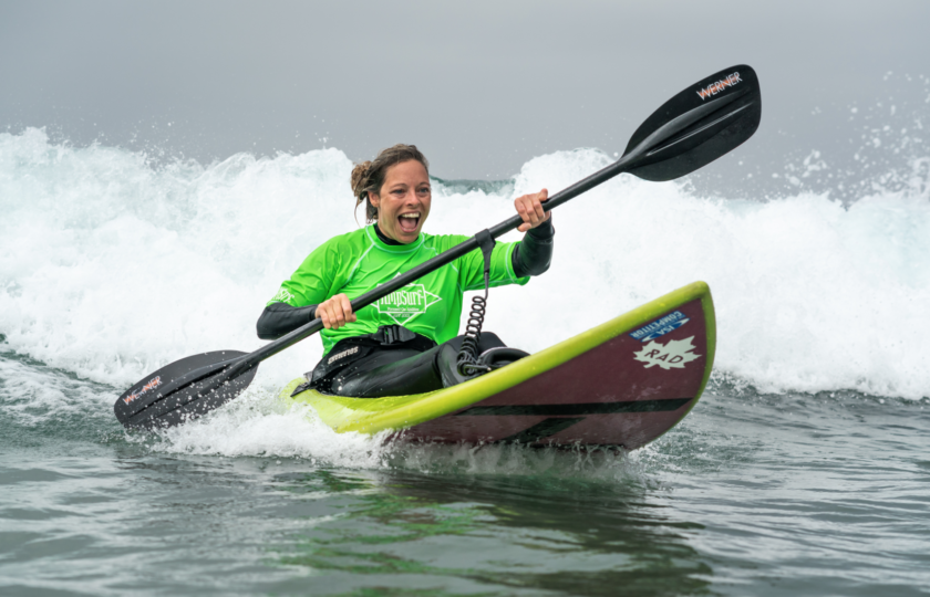 AmpSurf ISA Para Surf Clinic Spreads Surfing's Joy