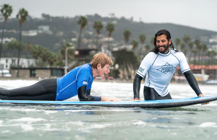 AmpSurf ISA Para Surf Clinic