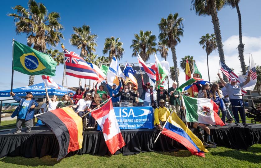 Ceremonia de Apertura Celebra el Poder del Para Surfing en La Jolla