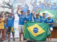 3rd Brasil Aloha Cup Closing Ceremony . Credit: ISA/ Rommel Gonzales