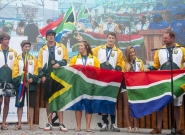 3rd Place South Africa Closing Ceremony . Credit: ISA/ Rommel Gonzales