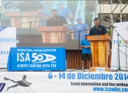 Juan Agustin Echeverria Closing Ceremony  . Credit: ISA/ Rommel Gonzales