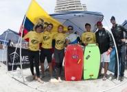Team Ecuador . Credit: ISA/ Gonzalo Muñoz