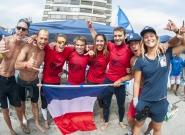 Team France . Credit: ISA/ Rommel Gonzales
