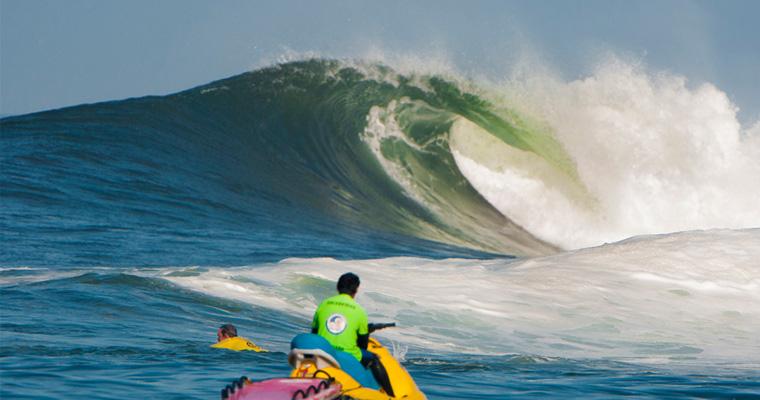 Iquique showing off. Photo: ISA/Rommel Gonzales