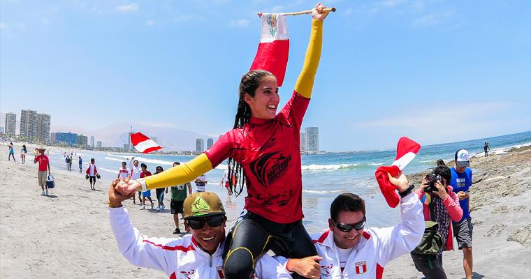 Peru's Carolina Botteri. Photo:ISA/Rommel Gonzales