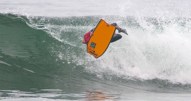 South Africa's Tristan Roberts. Photo: ISA/Rommel Gonzales