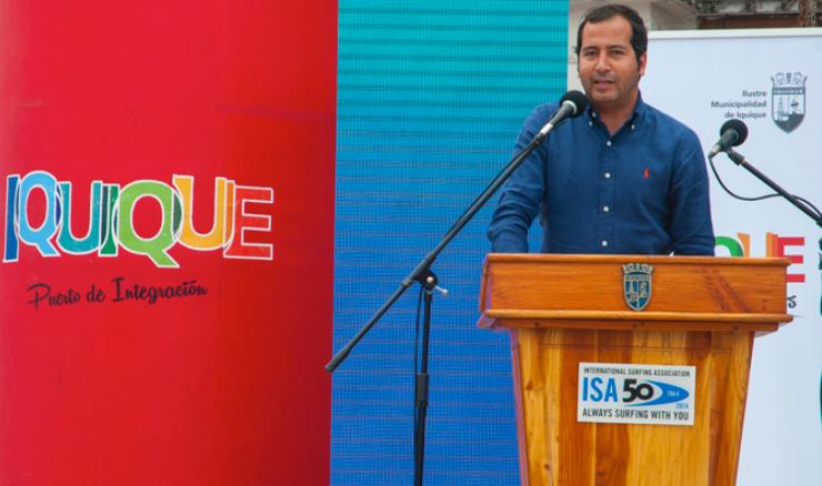 The Intendant of the Tarapacá Region, Mitchel Cartes. Photo: ISA/Rommel Gonzales