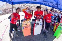 Team Japan. PHOTO: ISA / Pablo Jimenez