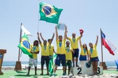 Team Brasil Gold Medal. PHOTO: ISA / Pablo Jimenez