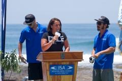 Chile Surf Federation President Paula Muñoz. PHOTO: ISA / Pablo Jimenez