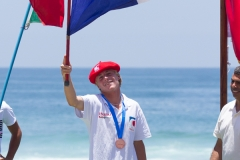 FRA - Milo Delage Medals. PHOTO: ISA / Pablo Jimenez