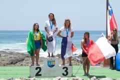 Under 18  Girls Podium. PHOTO: ISA / Pablo Jimenez