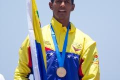 VEN - Luis Rodriguez Medals. PHOTO: ISA / Pablo Jimenez