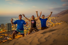 Sean Evan, Juan Santos and Alex Reynolds. PHOTO: ISA / Sean Evans