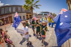 AUS - Parade. PHOTO: ISA / Sean Evans