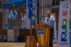 Iquique Mayor Jorge Soria. PHOTO: ISA / Sean Evans