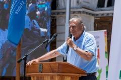 Mayor Jorge Soria. PHOTO: ISA / Pablo Jimenez
