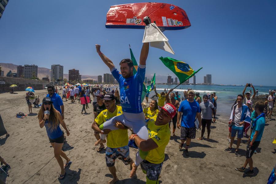 El desempeño de Eder Luciano le dio a Brasil el empuje que necesitaban para superar a Chile y tomar la Medalla de Oro por Equipos. Foto: ISA/Sean Evans