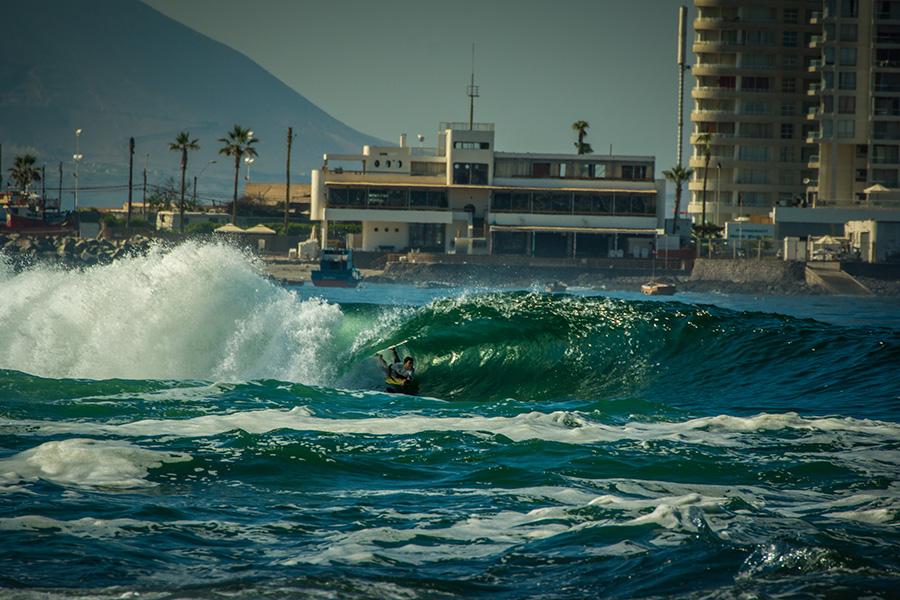 La Punta 1 proporciona olas poderosas que son perfectas para el Bodyboarding de alto rendimiento. Foto: Sean Evans