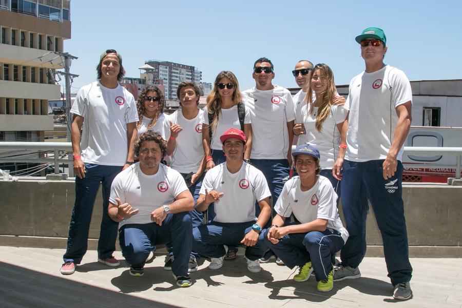El Medallista de Oro por Equipos de 2014, Chile, defenderá su título en sus olas locales. Foto: ISA/Pablo Jimenez