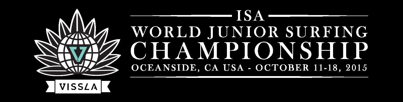 ISA Worlds Juniors Championship Logo